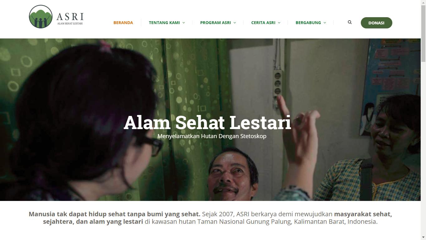 Yayasan Alam Sehat Lestari (ASRI)